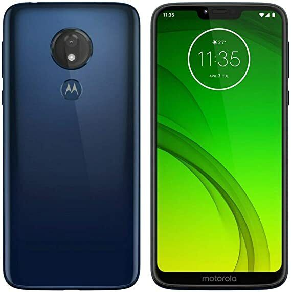 Motorola Moto G7 Power XT1955-5 Marine Blue Unlocked & More See Listing!