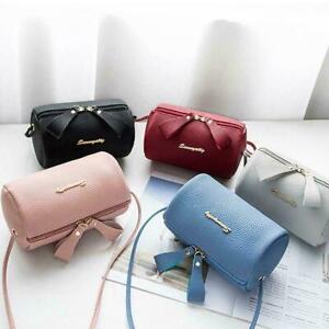 Women-039-s-PU-Leather-Shoulder-Bag-Handbag-Schoolbags-Bags-Mini-Shoulder-D2A2