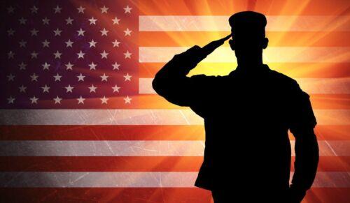 US ARMY SOLDIER AMERICAN FLAG DECAL STICKER 3M TRUCK HELMET VEHICLE WINDOW WALL