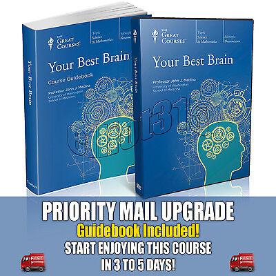 Your Best Brain DVD New Sealed John Medina Great Courses Neuroscience