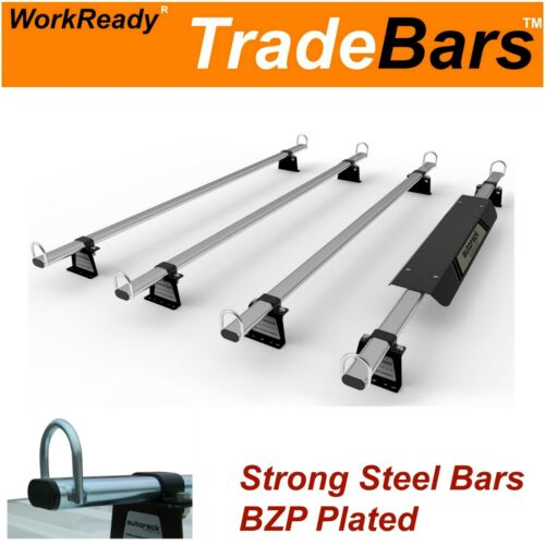 TRADE-BARS Roof Rack Bars for Renault Trafic LWB Low Roof Mk1 (01-2014) 4 bars