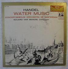 VG+ Handel Water Music LP Orchestra of Amsterdam Eduard Van Beinum Epic BC 1016