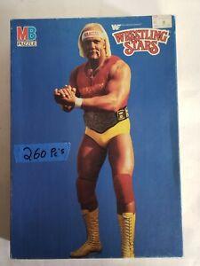 Vintage Hulk Hogan Puzzle Wrestling WF 250 Milton Bradley Hulkster ...