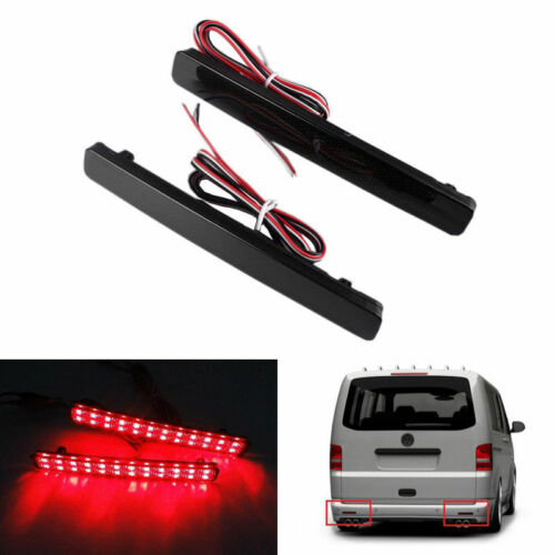 2x VW T5 Transporter LED Lampe Stoßstangen Reflektor Bremslicht Rücklicht Rot