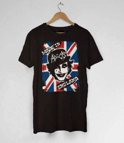 The Adicts Made In England T-Shirt Punk Clockwork Orange Droogs