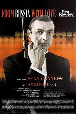 James Bond 007 Liebesgrusse Aus Moskau Film Poster Plakat 91x61cm 1386 Ebay