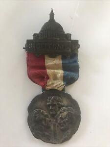 1912 Delegate Progressive Party National Convention Medal Badge Teddy Roosevelt