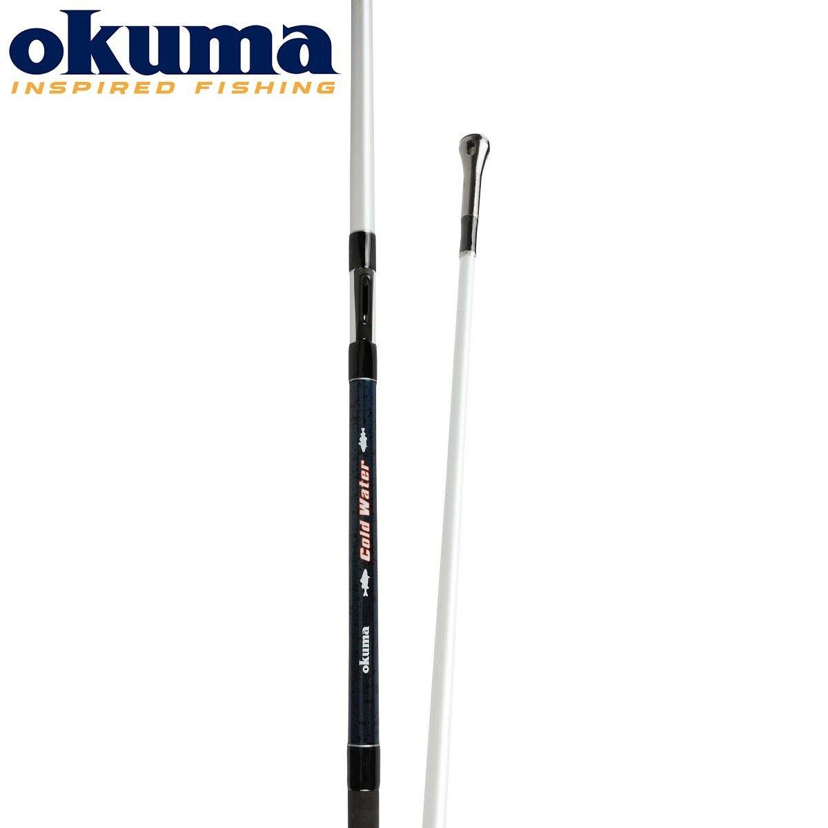 Okuma Kalt Wasser Inline Stiefel 2.20m Angelrute Meersalz Wasser Fischen 13.6-32kg