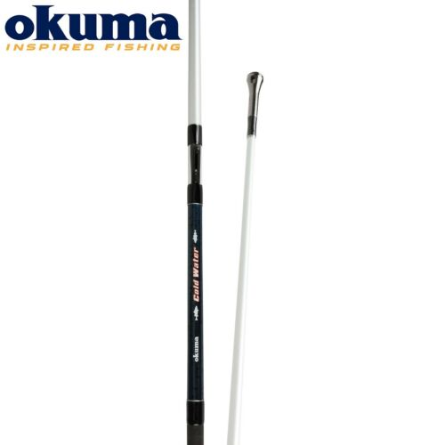 Okuma Cold Water Inline Boat 2.20m Rod Sea Salt Water Fishing 30-70lbs