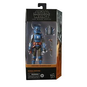 Star Wars Black Series 6 in KOSKA REEVES Figure Mandalorian NEW Preorder Aug 21