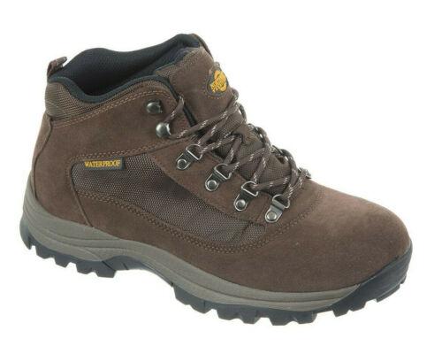 Northwest Territory Hiking Boots Mens Terrain 2 Waterproof Walking Shoes 7-12