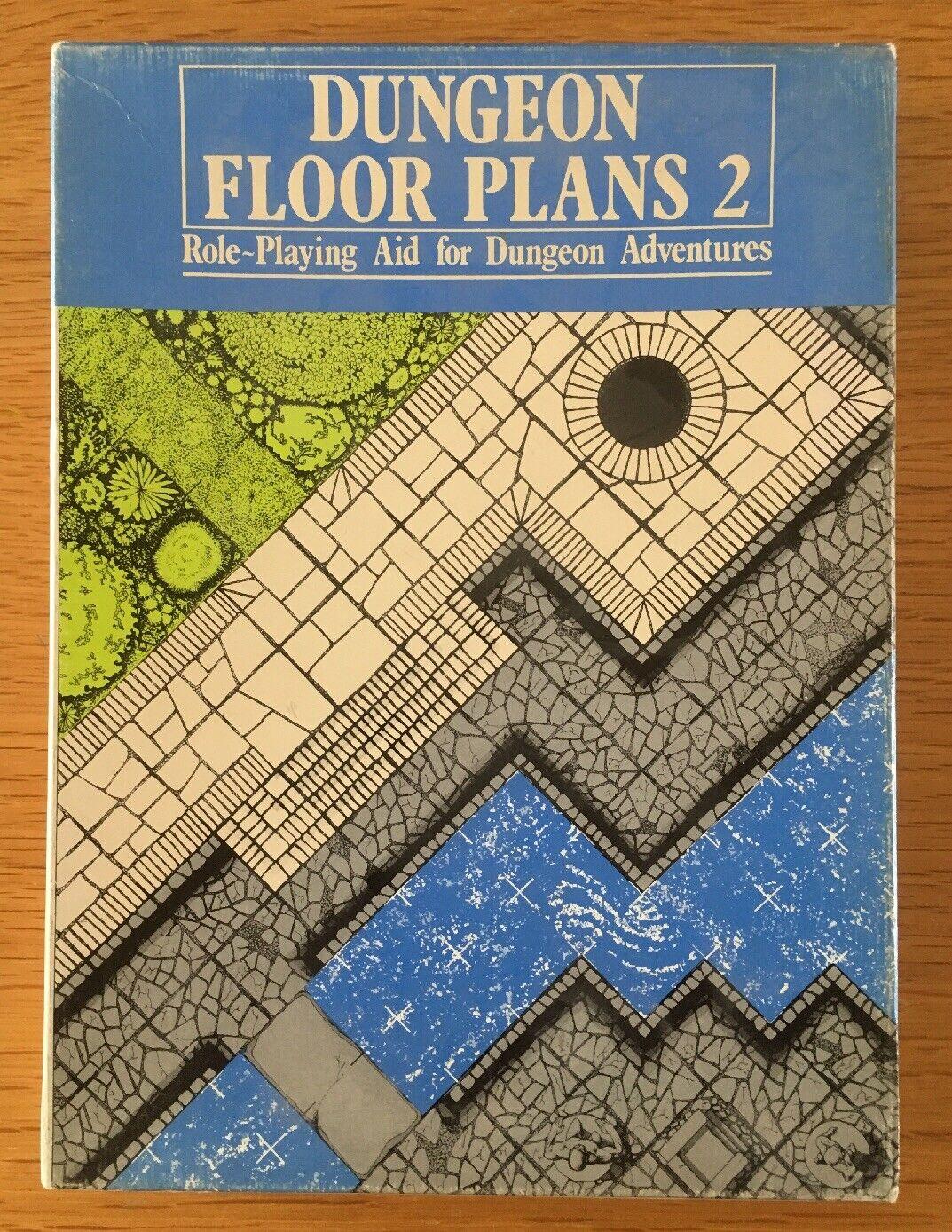 Dungeon Floor Plans 2 RPG Aid 02002 Games Workshop 1982