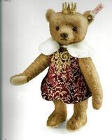 Steiff antonia Teddy Bear Ean 034688 Russian Tsarina With Crown-limited Ed