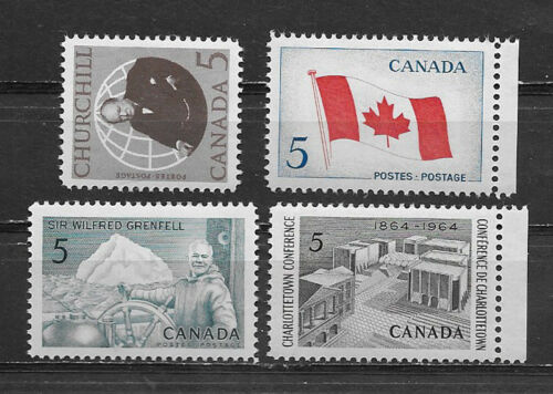 CANADA , 1960's , LOT OF 4 STAMPS , MNH