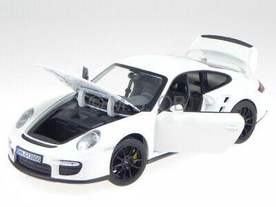 Porsche 911 997 GT2 2007 weiss Modellauto 187572 Norev 1:18