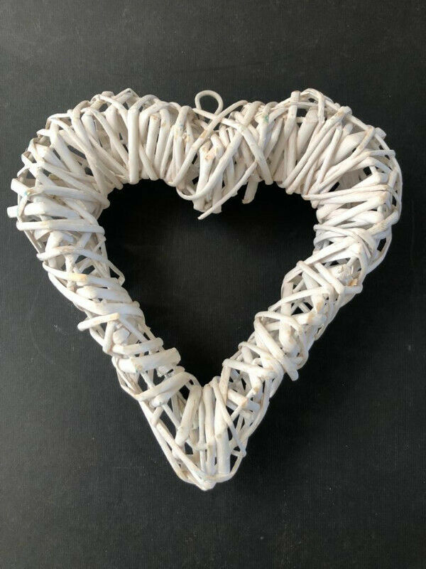 Woven hanging heart - great house wall decor item