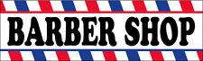 Barber Shop Vinyl Banner Sign 2x8 Ft Wb