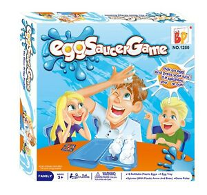 Juego de mesa Aplasta el Huevo Juguete Divertido Eggs Saucer Game para Niños