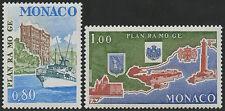 1978 MONACO N°1134/1135** Plan RAMOGE, MNH