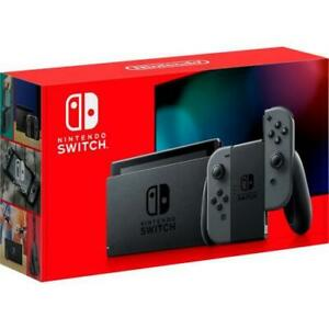 Nintendo Switch with Gray Joy-Con Controllers - 6.2 multi-touch display - Inclu