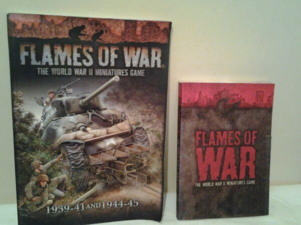 Cosciente Flames Of War Books