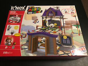 K'NEX Nintendo Super Mario 3D Land Ghost House Building Set 100% Complete in Box