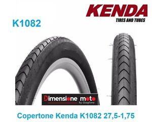 Copertone-034-KENDA-034-27-5x1-75-K1082-Slick-Nero-per-Bici-27-5-034-MTB-Mountain-Bike