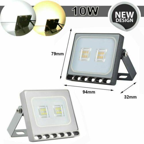 LED Fluter mit Bewegungsmelder//Stecker 10-500W Außen Strahler Scheinwerfer IP65