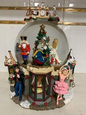 Kirkland Large Christmas Light Up Musical Snow Globe Nutcracker Sugar Plum Fairy Ebay