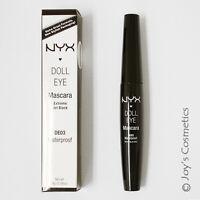 1 Nyx Doll Eye Mascara de03 - Waterproof  Joy's Cosmetics