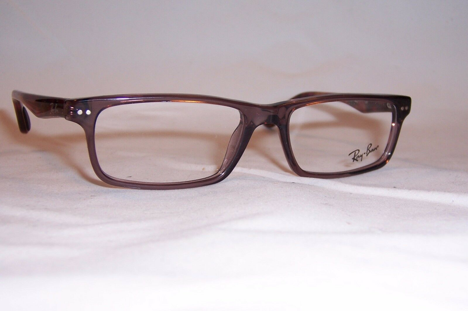3fa230030773 Ray-Ban 0rx5277 Rectangle Unisex Eyeglasses Shiny Opal Brown 52 for ...