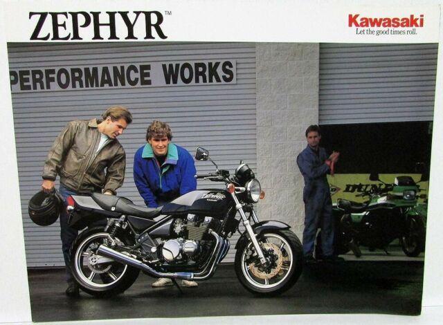 Kawasaki Range Motorcycle Sales Brochure 1998 For Sale Online Ebay