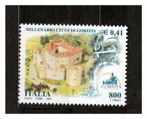 ITALIA-MNH-2001-Gorizia-Castle-1v-s32438