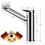 Einhebelmischer Wasserhahn Waschtischarmatur Mischbatterie 360° Drehbar DE STOCK
