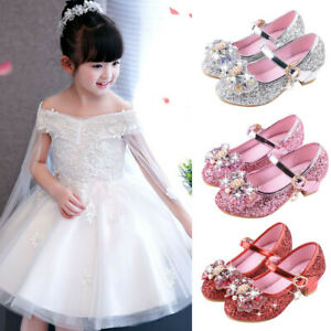 Infant-Kids-Baby-Girls-Crystal-Bling-Bowknot-Single-Princess-Shoes-Sandals