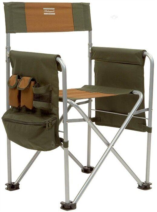 Shakespeare Directors Chair sedia Angel sedia sedia da campeggio  borsa fino a 130kg