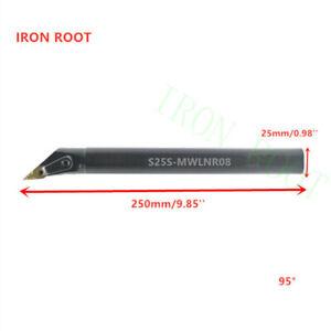 S25S-SVWBR16   25*250mm  Lathe Turning  Tool Boring Bar Holder for VB**16**