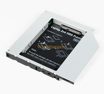2nd HDD SSD Caddy for Dell Inspiron 1100 1150 5100 5150 5160 Latitude 100L 110L