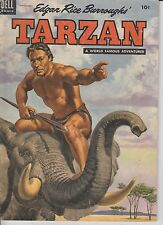 1954 Tarzan #60 Comic Book GOLDEN AGE Jungle Africa Boy Pulp Zebra Elephant VTG