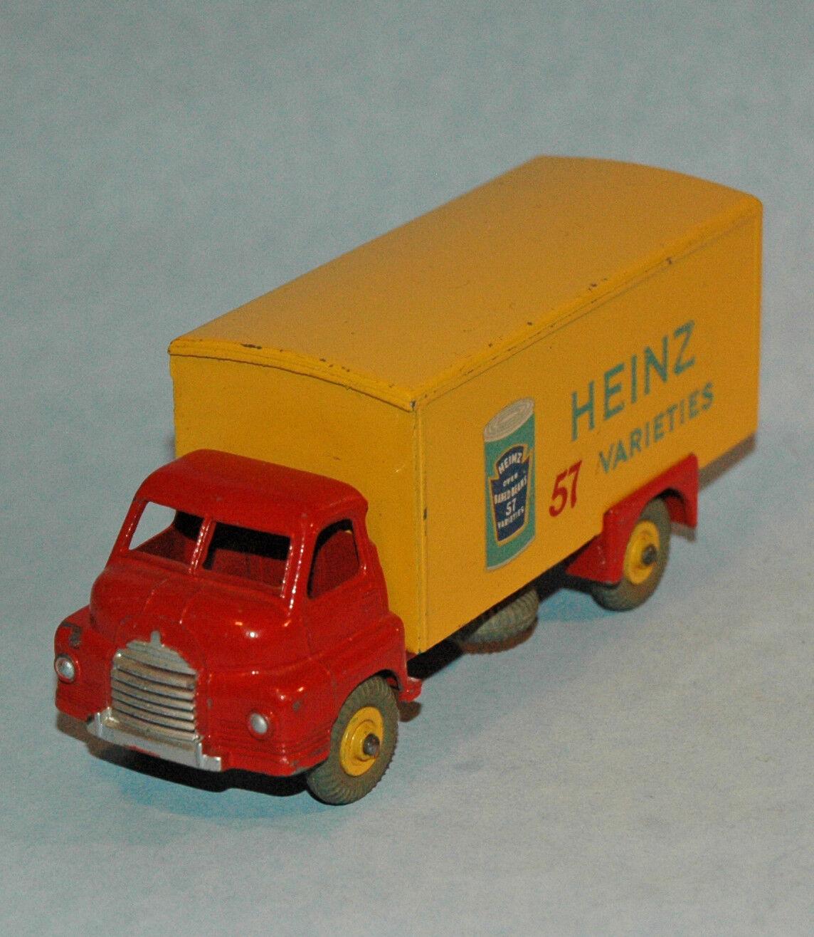 DINKY Meccano original 1955 BIG BEDFORD VAN HEINZ 57 VARIETIES BAKED BEANS 922