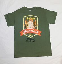 New Florida New Times Beerfest 19th Annual Broward Green MEDIUM (M) T Shirt