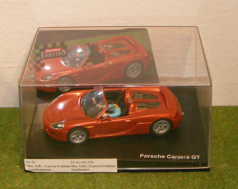 CARRERA EVOLUTION 25456 PORSCHE GT orange SLOT CAR