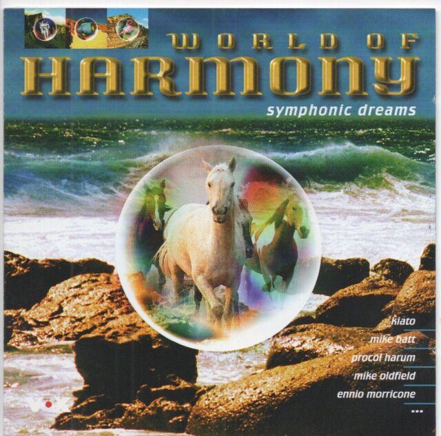 World of Harmony (2 CD-Set) 1998 mit u.a. Mike Oldfield, Procol Harum, Chopin...