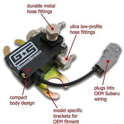 Grimmspeed Electronic Boost Controller 08 Subaru WRX 05 LGT FXT EBCS 09
