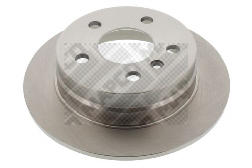 Bremsscheibe für Bremsanlage Hinterachse MAPCO 25802