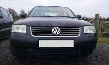 VW Passat 03 1.6 motor de gasolina o/S Derecho ruptura Para Repuestos N/S Izquierda Negro LC9Z