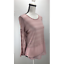 NWT-H-I-P-Women-039-s-Knit-Top-Sheer-Stripes-Long-Sleeve-Scoop-Neck-Blush thumbnail 2