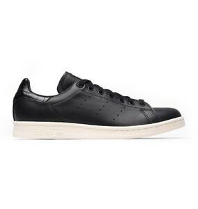 Dettagli su Adidas Originals STAN SMITH BLACK SCARPA CASUAL art. BZ0467