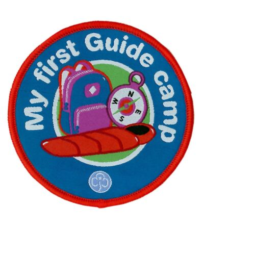 Guide Badge 1st Camp Girl Guiding
