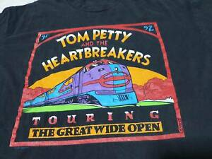 Tee The Great Wide Open Tom Petty and The Heartbreakers